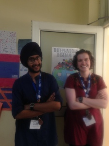 Duke TIP India 2015 with my amazing TA, Sandeep Singh